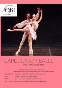 2020 Master Classes Cape Junior Ballet